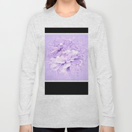 Violet Tones For The Butterfly Long Sleeve T-shirt