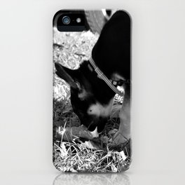 Bella the German Shepard iPhone Case