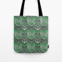 slytherin Tote Bags featuring Slytherin by Cryptovolans