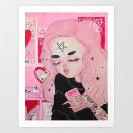 Our Lady of Broken Hearts Art Print
