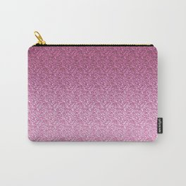 Pink Glittery Gradient Carry-All Pouch