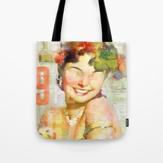 The girl of the 9th floor Tote Bag