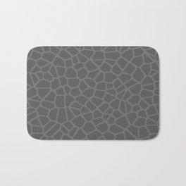Staklo (Gray on Gray) Bath Mat