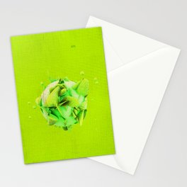 SPHeRe GLoP | RGB | GREEN Stationery Cards