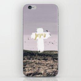 JESUS   EASTER   CROSS iPhone Skin