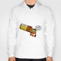 pills Hoodies featuring Sugar Pills by Beastie Toyz