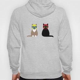 Lucha Libre Cats Hoody