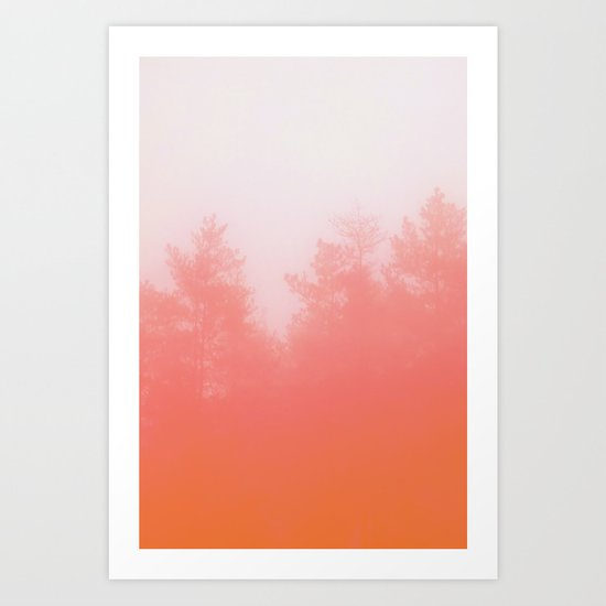 Out of Focus Art Print