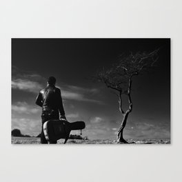 The Player 3 Canvas Print