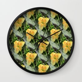 Lily Time... Wall Clock