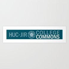 College Commons Mugs Art Print