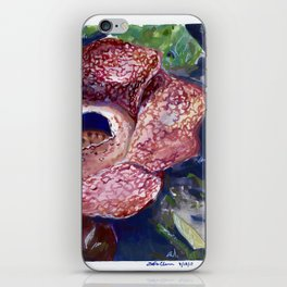 Corpse Flower iPhone Skin