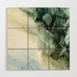 Land and Sky Abstract Landscape Painting Wood Wall Art