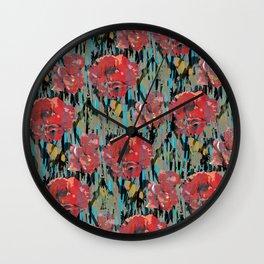 PEONYPARROT Wall Clock