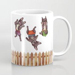Mojo, Ocho, Herman Coffee Mug