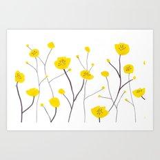 Buttercups Art Print