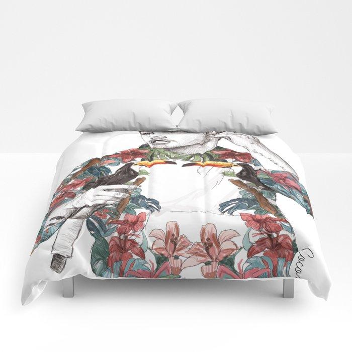 Liam Floral Comforters