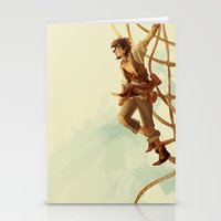 viria Stationery Cards featuring pirate leo by viria
