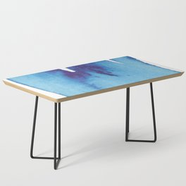 Blue Wave Coffee Table