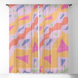 Funky Sheer Curtain
