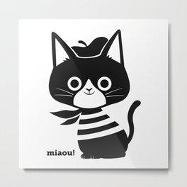 miaou! Metal Print
