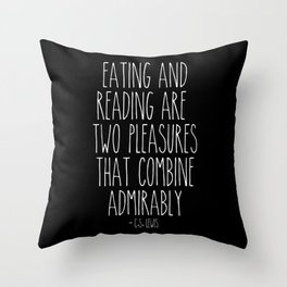An Admirable Combo Throw Pillow