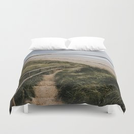 A day at the beach - Landscape and Nature Photography Duvet Cover