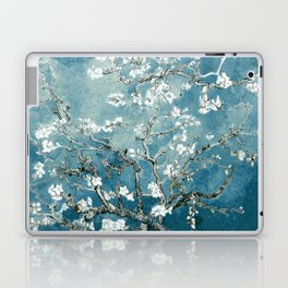 Vincent Van Gogh Almond Blossoms Teal Laptop & iPad Skin