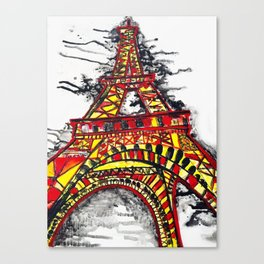 Stand Strong, Paris  Canvas Print