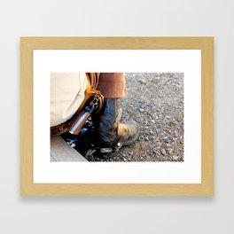 The West... Framed Art Print