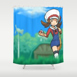 Lyra Shower Curtain
