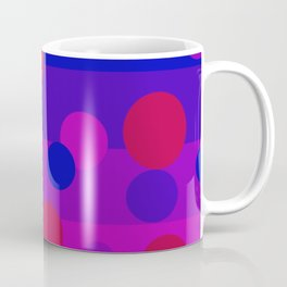 Sweet Berry Pie with Floating Circles Coffee Mug