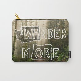 Wander More - Forest Carry-All Pouch