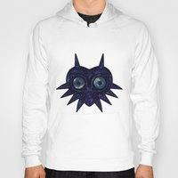 majoras mask Hoodies featuring Majora's mask galaxy by Pocketmoon designs
