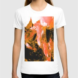 Dancing In Blue No.1d by Kathy Morton Stanion T-shirt