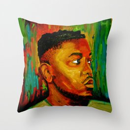 Kendrick Lamar Throw Pillow
