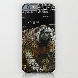 gray marmoset monkey iPhone Case