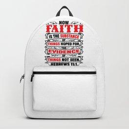 Hebrews 11:1 Backpack