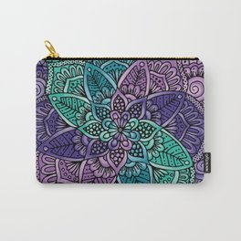 Spiral mandala Carry-All Pouch