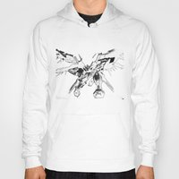 gundam Hoodies featuring Gundam Wing  by HobbSpot