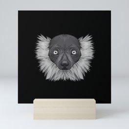 Icons of Africa - Ruffed Lemur Mini Art Print