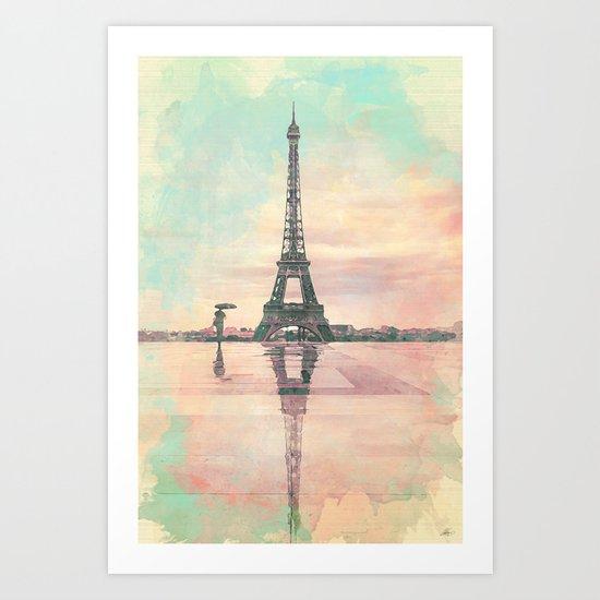 Pari Art Print