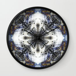 Flow Fractal Wall Clock