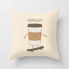 expresso Throw Pillow