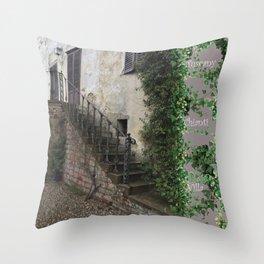 Tuscany Chianti Region Villa Throw Pillow