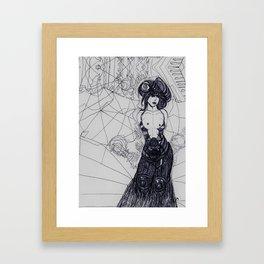 Ms Biro Framed Art Print