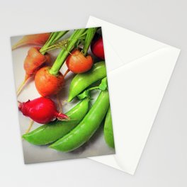 Vegetable Still Life-Nourishing Colors Stationery Cards