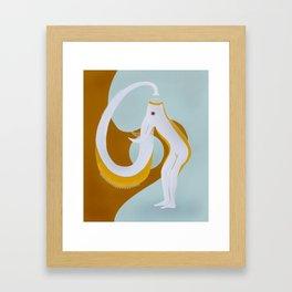 Elepher Framed Art Print