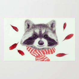Indi raccoon Rug