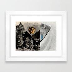 MOUNTAINTEAR Framed Art Print